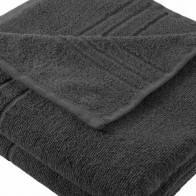 Badetuch 100x150cm SoliDe® 440gr/m² Farbe anthrazit