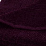 Duschtuch 70x140cm SoliDe® 440gr/m² Farbe aubergine