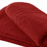 Handtuch 40x90cm SoliDe® 420gr/m² Farbe rot