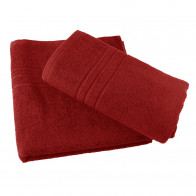 Handtuch 50x90cm SoliDe® 420gr/m² Farbe rot