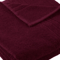 Massagetuch 100x220cm SoliDe® 440gr/m² Farbe bordo