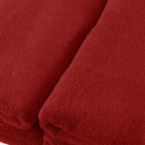 Augentuch 20x30cm SoliDe® 420gr/m² Farbe rot