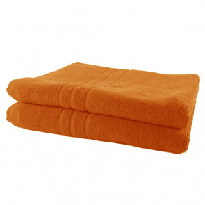Handtuch SoliDe orange 50 x 100 cm
