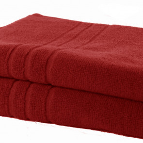 Handtuch 50x100cm SoliDe® 420gr/m² Farbe rot